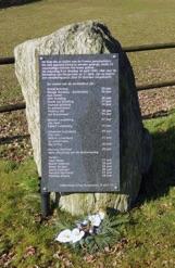 monument slachtoffers april 1945