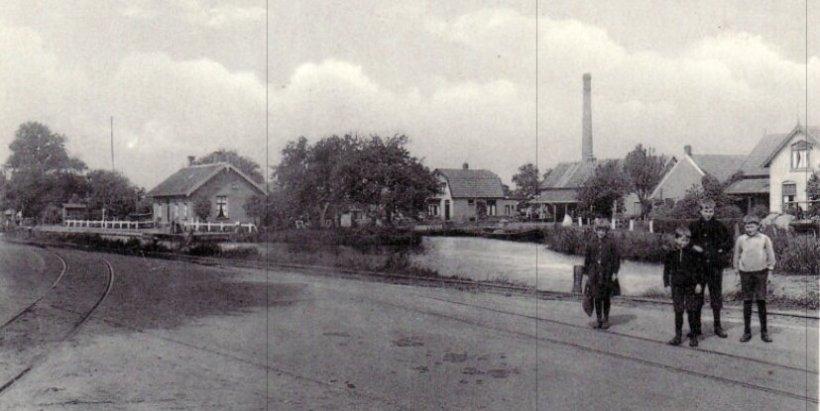 Foto zuivelfabriek Slagharen
