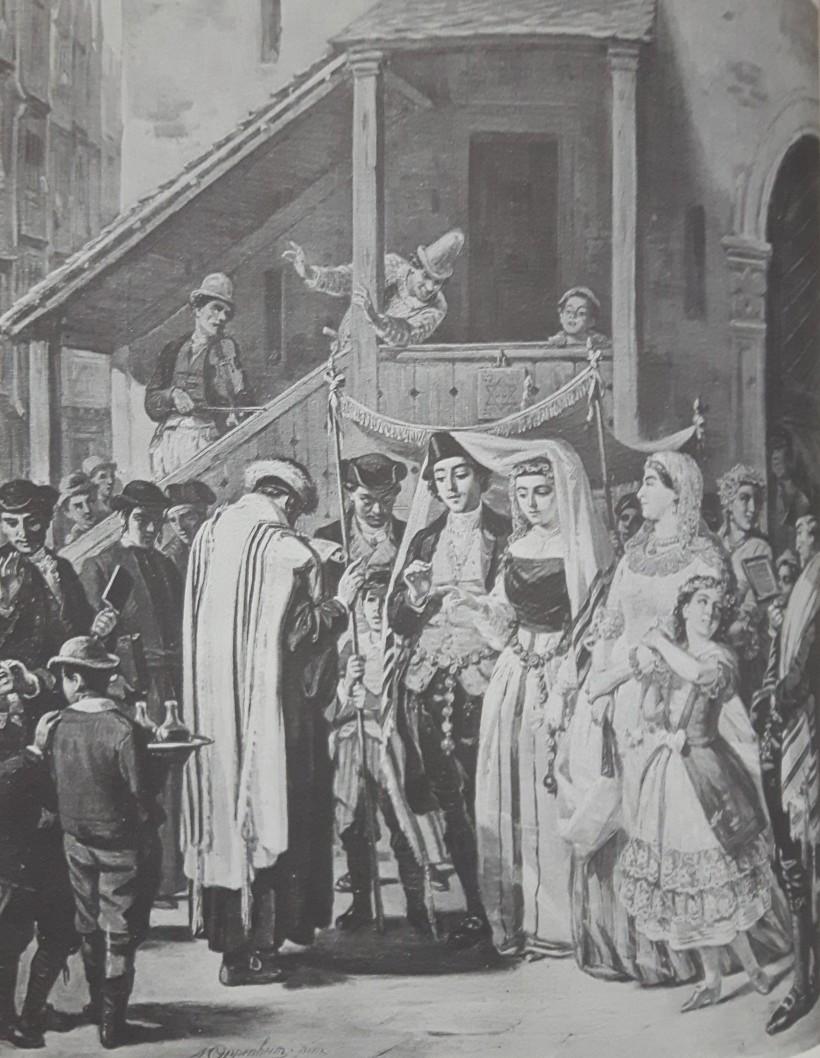 Joodsche huwelijksinzeging