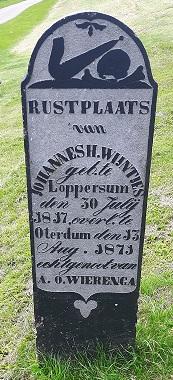 grafsteen Johannes Christoffer Wijntjes