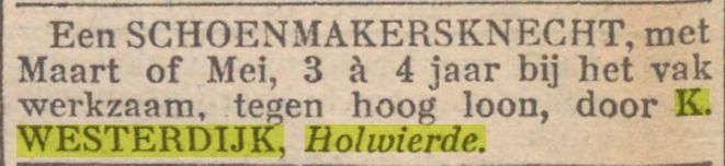 19030111 Dagblad van het Noorden