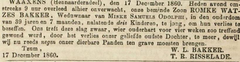 18601224 LC ovl Romke Watzes Bakker