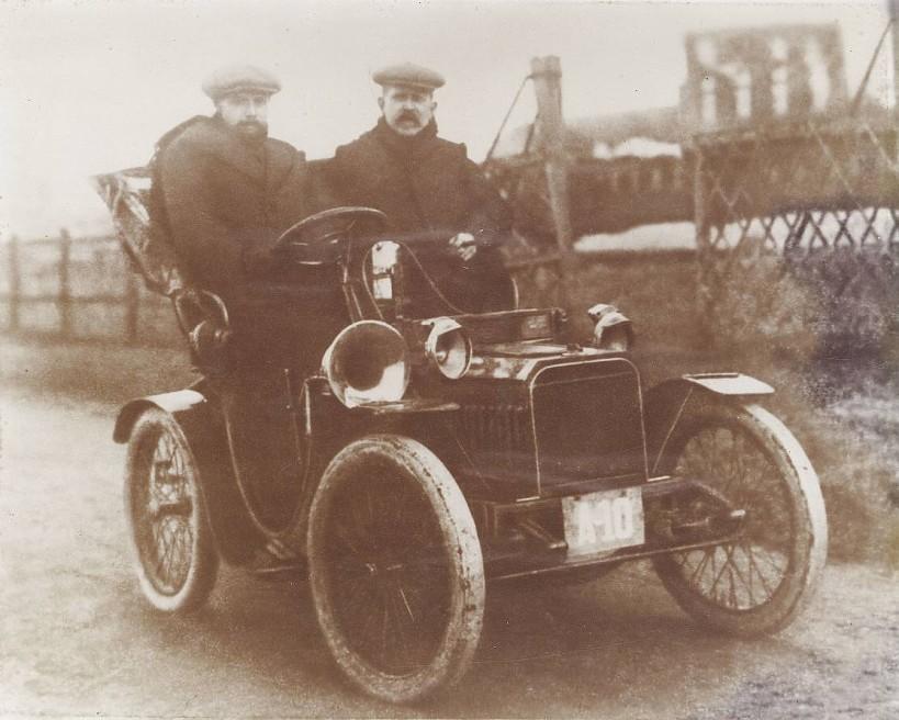 Klaas Mulder ca 1909