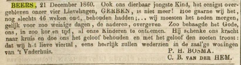 18601225 leeuwarder courant overlijden gerben